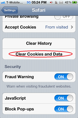 I Phone -i Pad -Cookie -and -Data -Clear